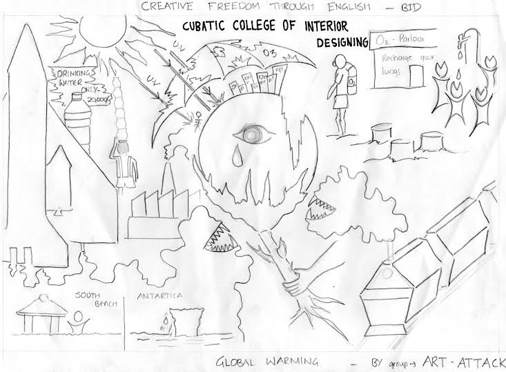 733x539 Cubatic College On Twitter Inter Group Creative Drawing