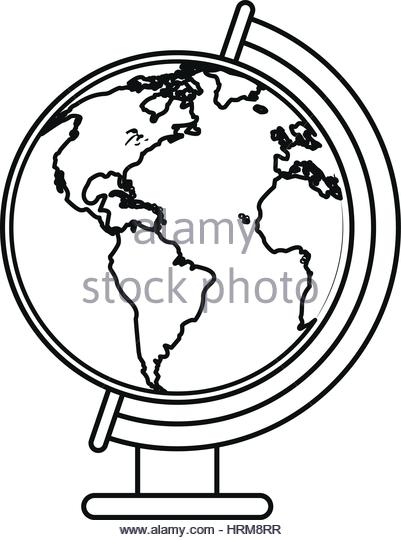 401x540 Line Drawing World Map Stock Photos Amp Line Drawing World Map Stock