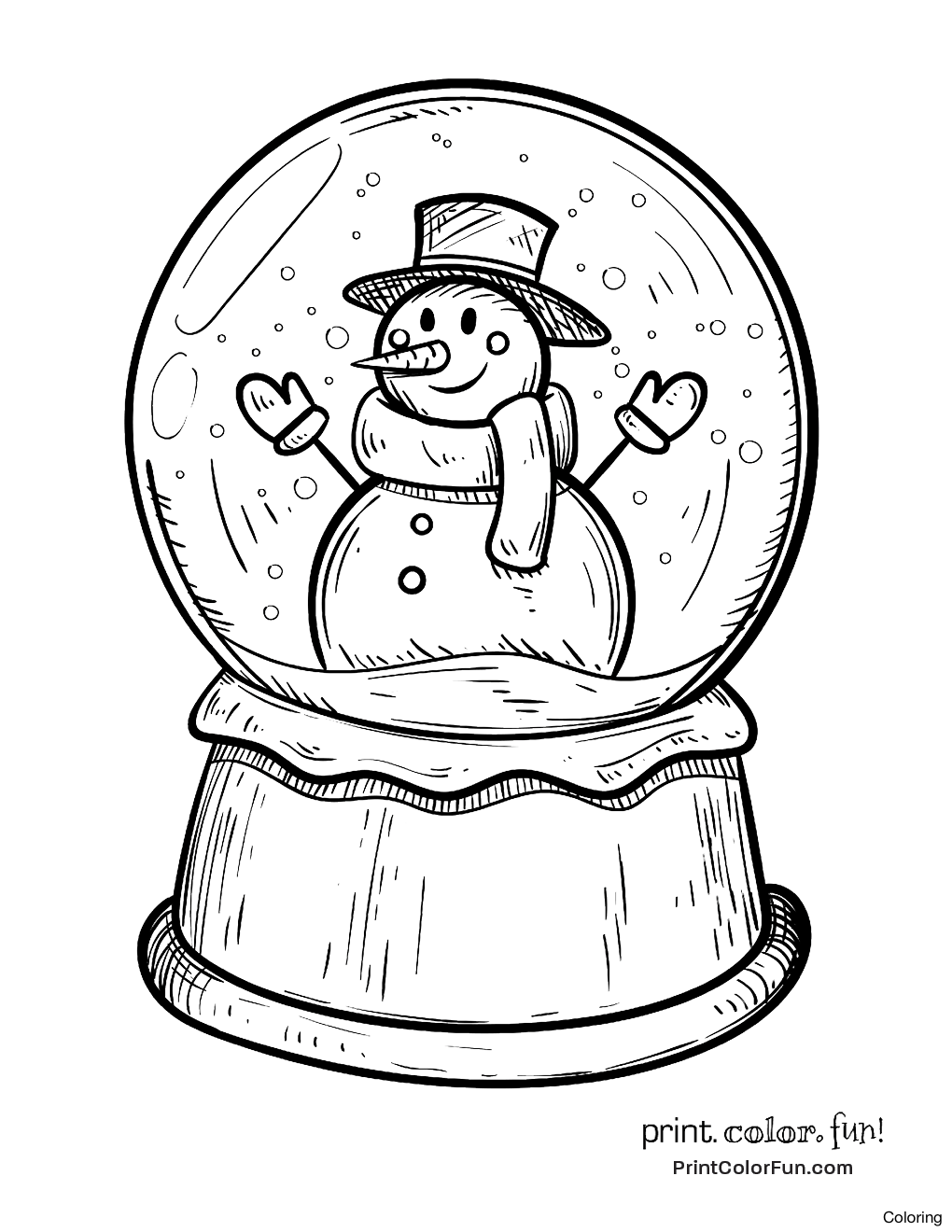 1020x1320 Free Globe Coloring Pages 81 On Disney With Page 1f Snow Theater
