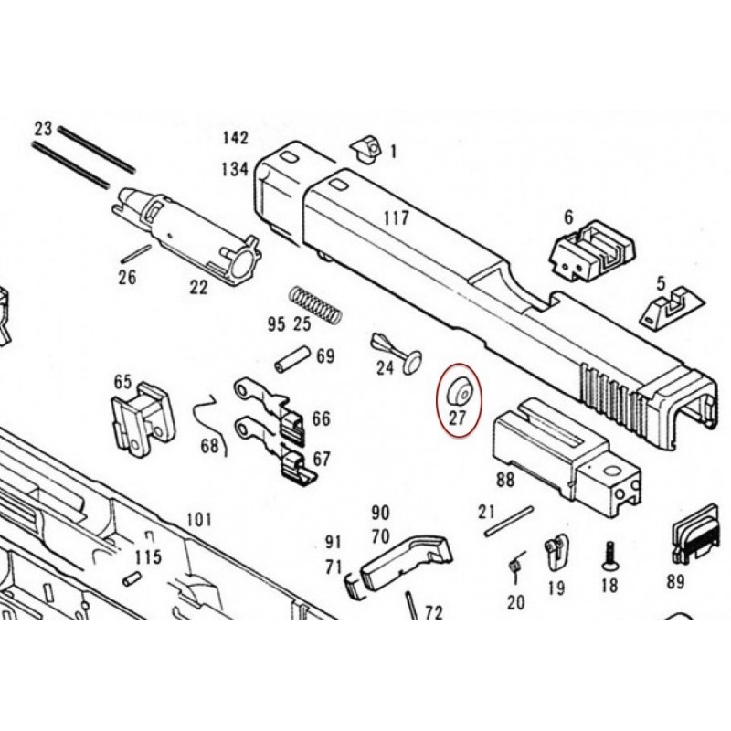 the best free glock drawing images  download from 51 free drawings of glock at getdrawings