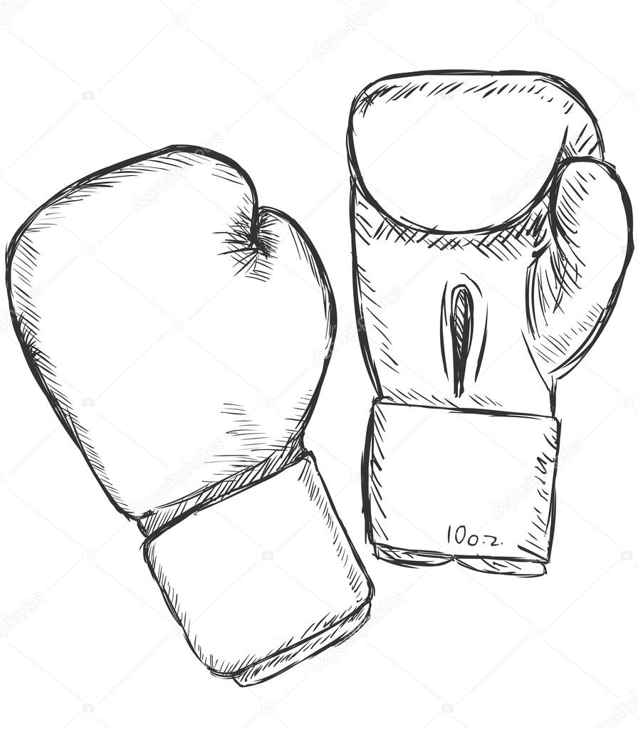 896x1024 Sketches Of Boxing Gloves Boxing Gloves Art Group