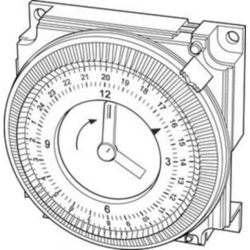 800x800 Baxi Mechanical Timer