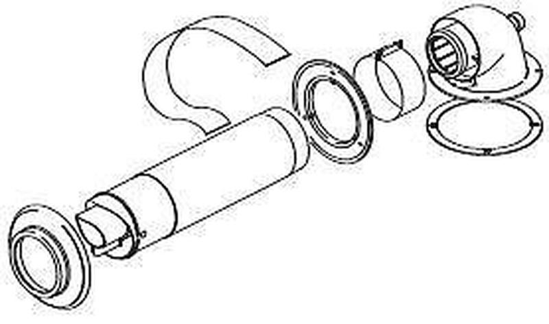 800x472 Worm Telescopic Horizontal Flue (A2043600)