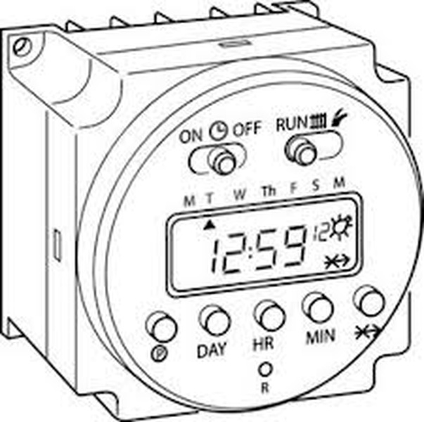 603x600 Worm Ultracom2 Digital Clock (0020095197)