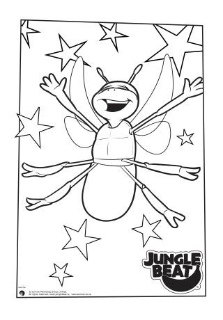 320x460 30 Best Jungle Beat Colouring Pages Images