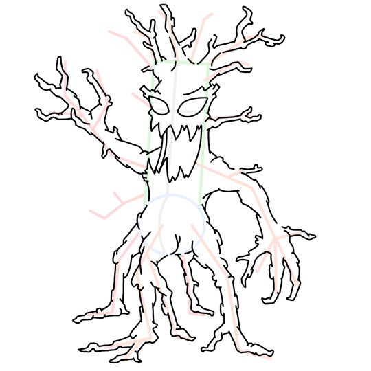 540x540 How To Draw Tree Monsters