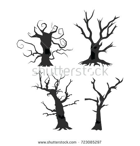 450x470 Spooky Halloween Tree Spooky Tree Diy Spooky Halloween Tree Prop