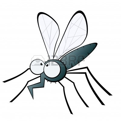 400x400 Drawing Gnat Isolated On The Clipart Panda