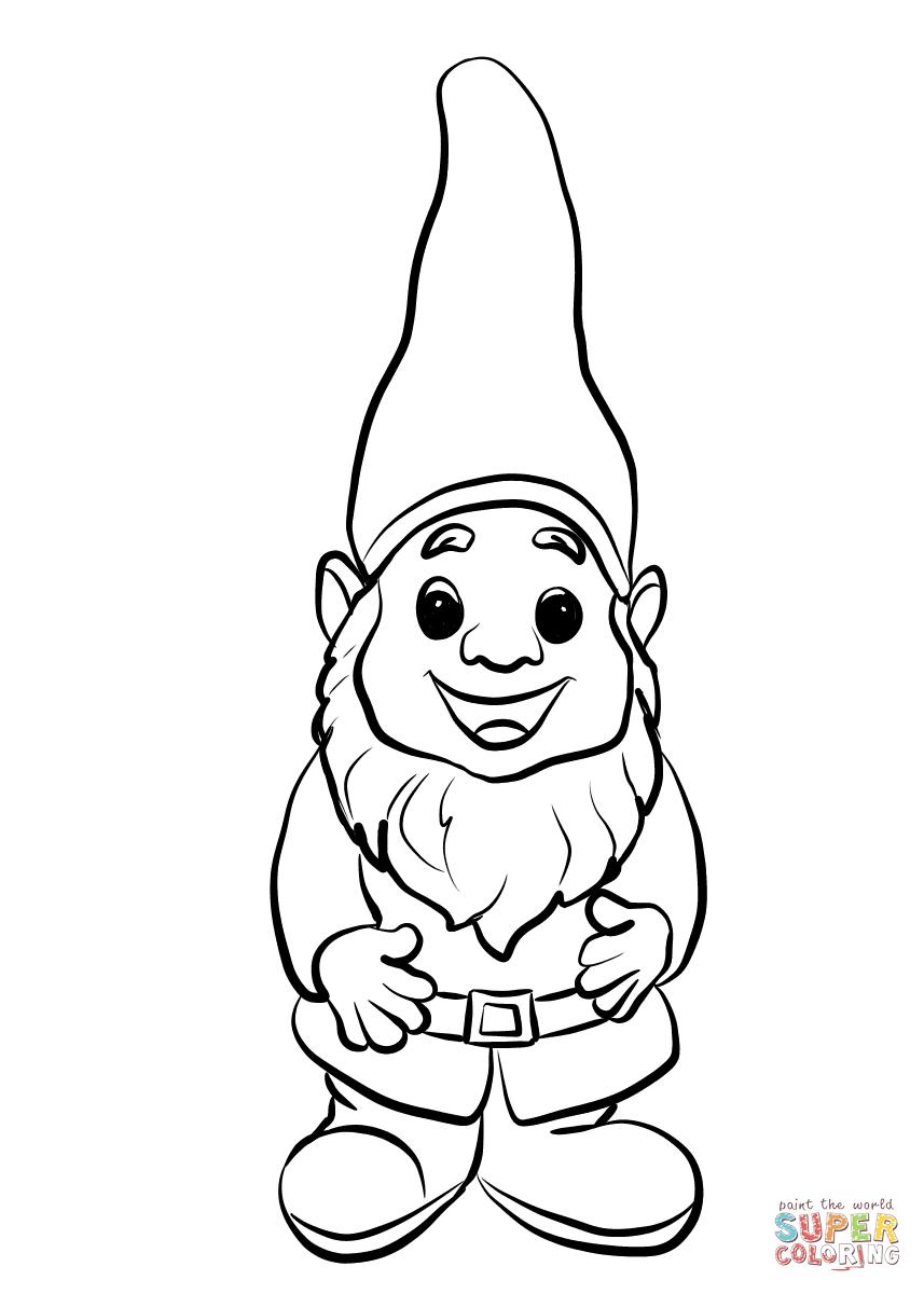 Gnome Clip Art: Gnome Cartoon Drawing At GetDrawings.com