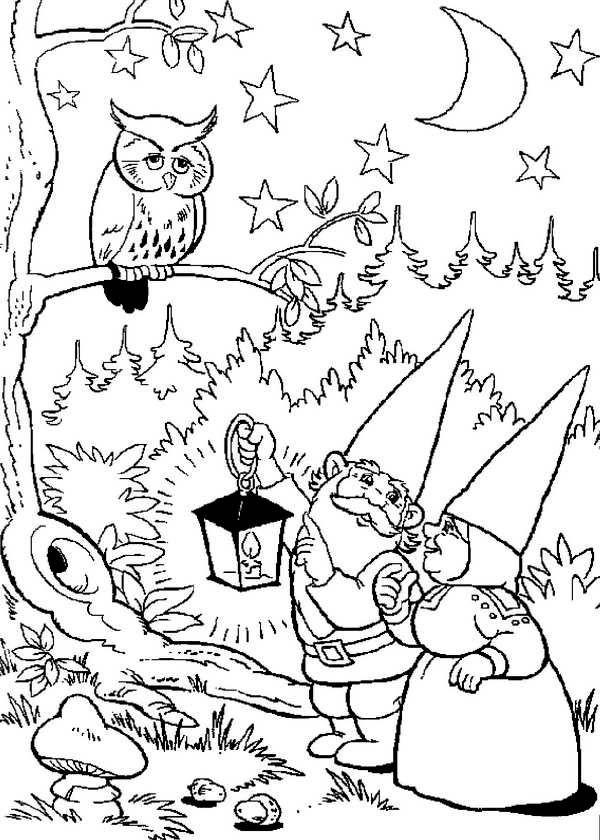 600x840 David The Gnome Coloring Page. Waht!! I Love David The Gnome