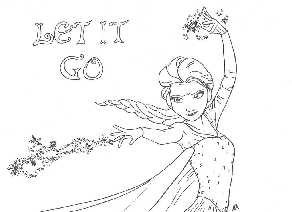 1024x744 Elsa Let It Go 2 By Narno615