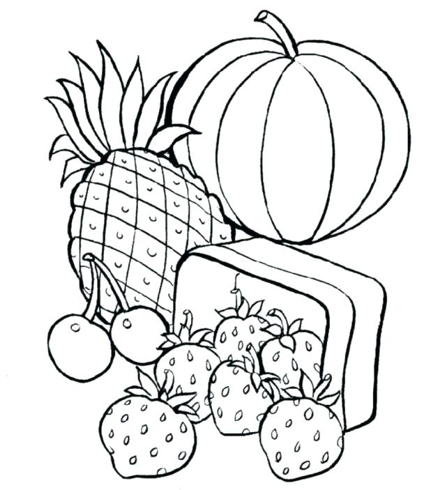618x703 Healthy Food Coloring Pages Healthy Eating Live Healthy Eating