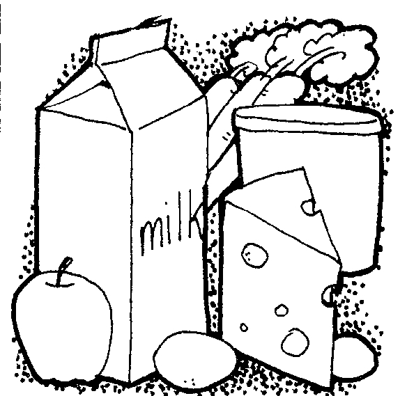 584x569 Go Foods Clipart Black And White 7 Clipart Station