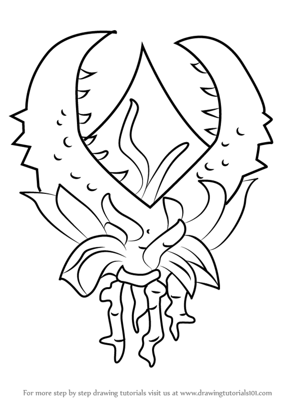 566x800 Learn How To Draw Plantera Second Form From Terraria (Terraria