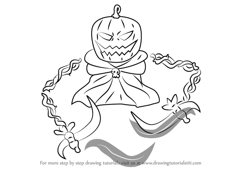 800x566 Learn How To Draw Pumpking From Terraria (Terraria) Step By Step