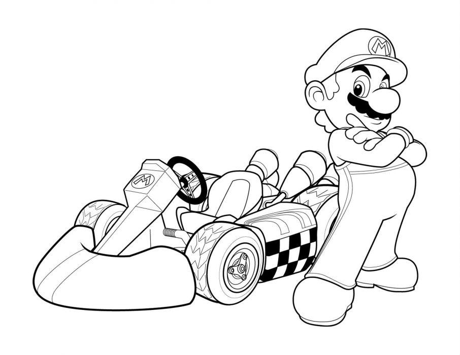 906x700 Mario Kart Nintendo Go Kart Race Racing Family Wallpaper