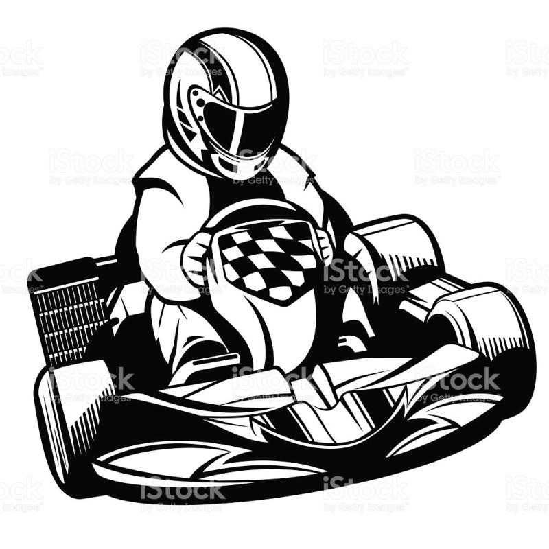 800x800 Go Kart Clipart