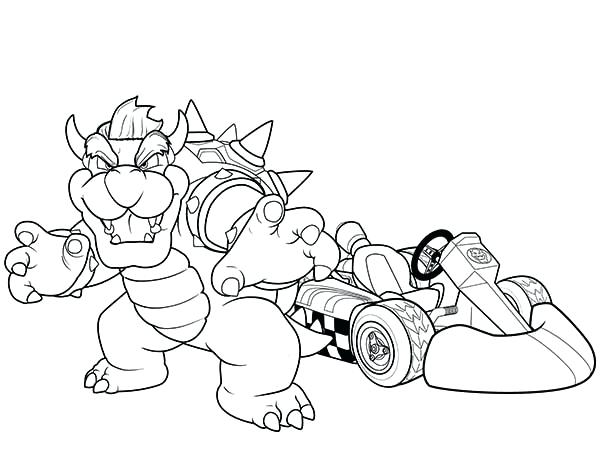 600x464 Brachiosaurus Coloring Page Go Kart Champion In Coloring Page Free