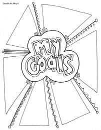 202x261 Goal Setting Coloring Pages