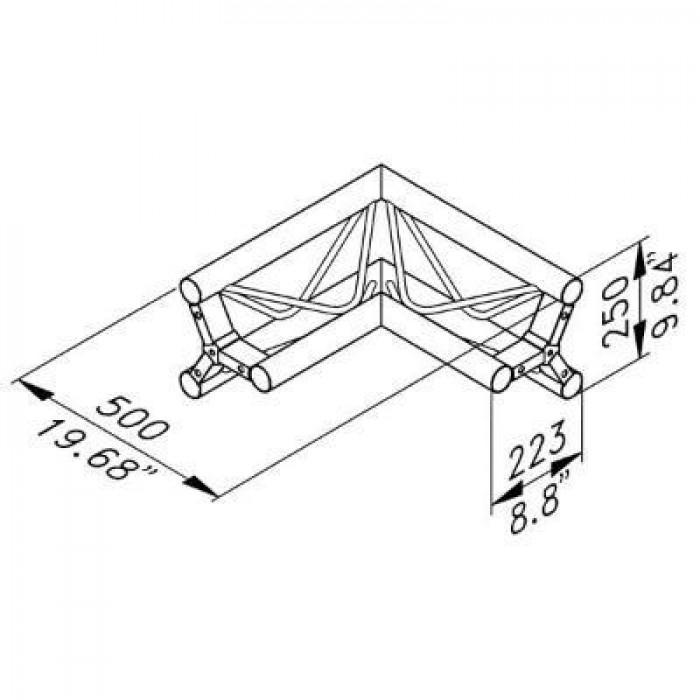 700x700 Ladder Truss Straight Length Trussing Ladder Truss Structure