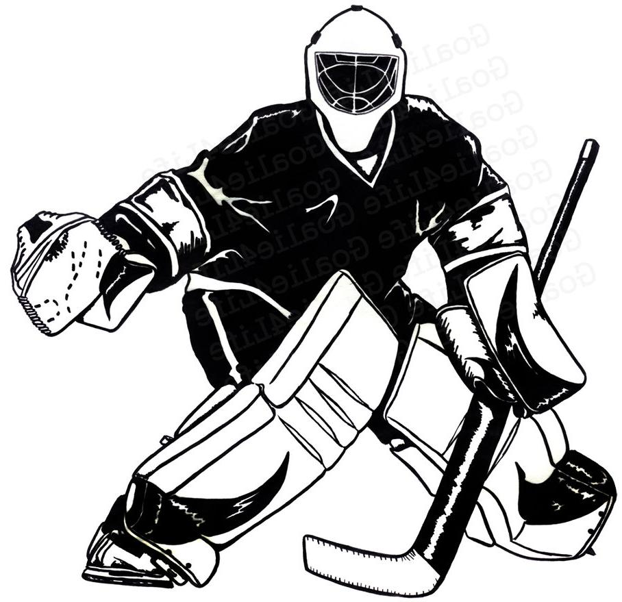 goalie drawing at getdrawings com free for personal use goalie rh getdrawings com ice hockey goalie clipart field hockey goalie clipart