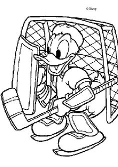 236x333 Donald Duck Goalie Hockey Ice Hockey