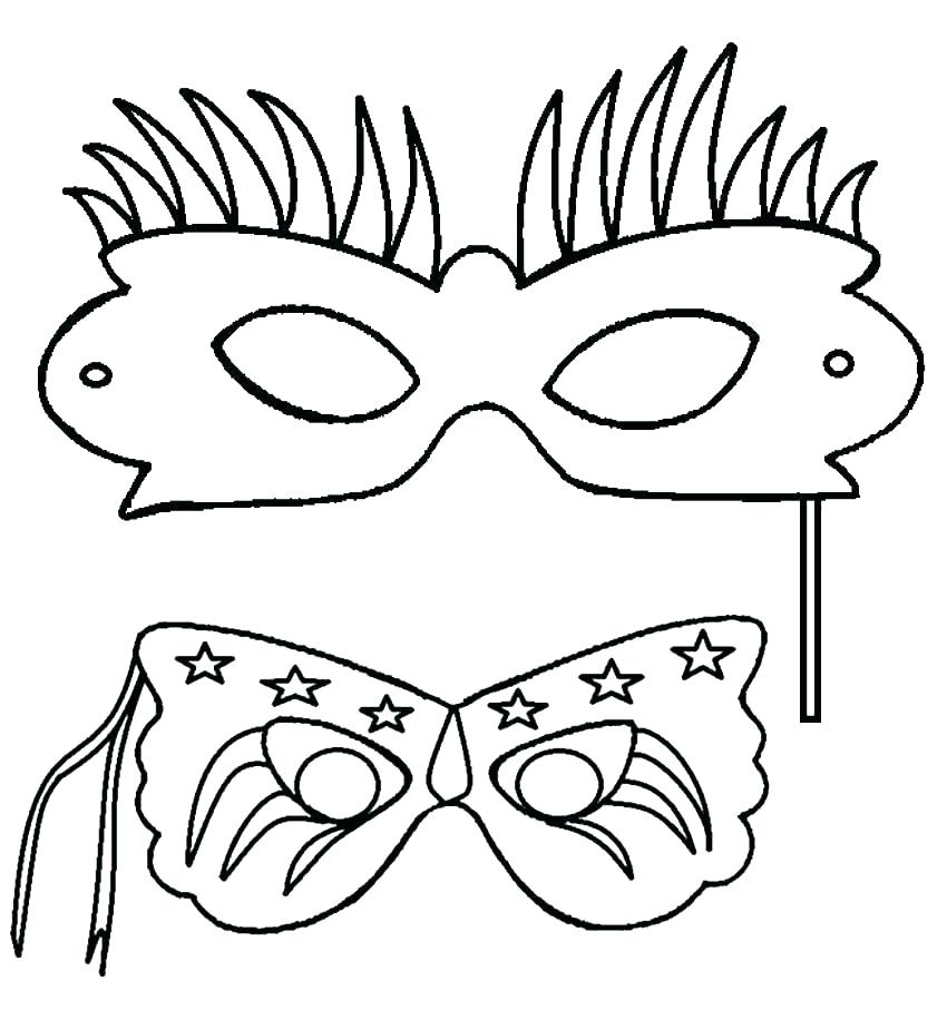 850x907 Hockey Goalie Mask Coloring Pages Page For Kids P