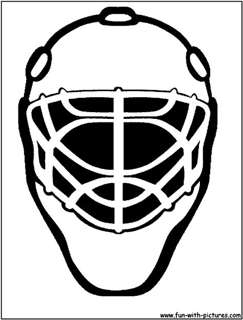 474x622 Hockey Goalie Mask Hockey Clipart Hockey Goalie