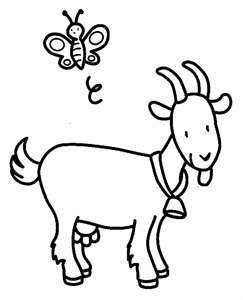 243x300 Gallery Goat Drawing For Kids,