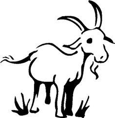 236x242 How Draw A Cartoon Goat Felt Obsession How