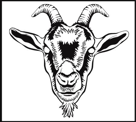 450x402 97 Best Goats! Images On Goat, Goats And Painting Stencils