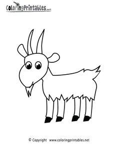 236x305 Drawn Goat Craft