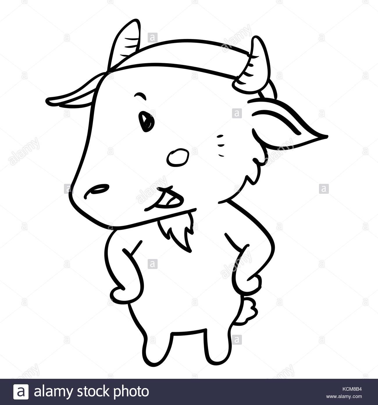 1300x1390 Goat Drawing Stock Photos Amp Goat Drawing Stock Images