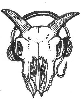 322x400 Goat Skull Recording Logo As I Have Noted In Other