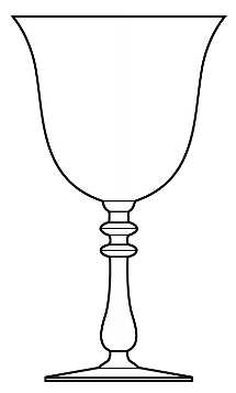 goblet of fire coloring pages | Goblet Drawing at GetDrawings.com | Free for personal use ...