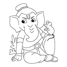 God Ganesh Drawing