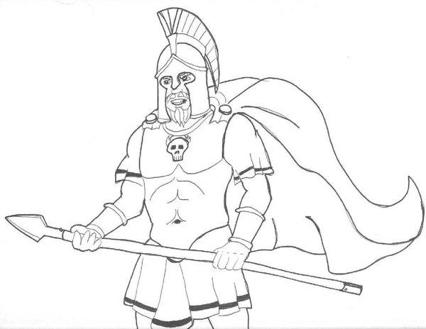 600x464 Ares, God Of War By Rumpuboy4