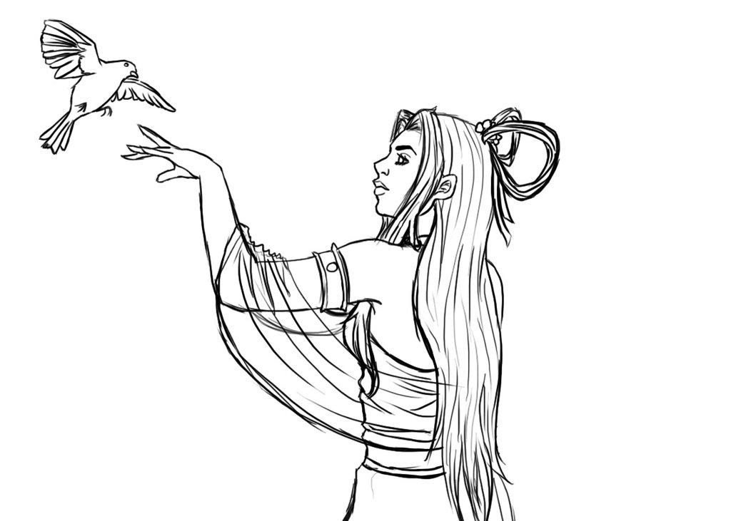 1024x731 Earth Goddess At By Silverwolfdimitrix
