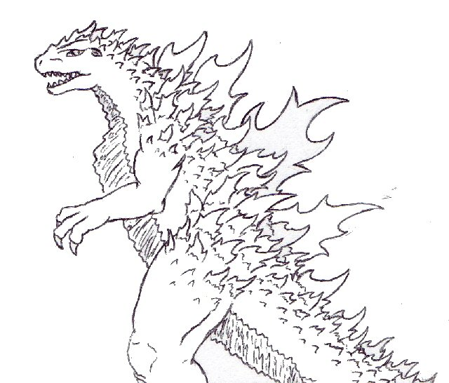 godzilla drawing at getdrawings com free for personal use godzilla rh getdrawings com Car Clip Art Black and White Black and White Flower Clip Art