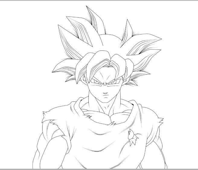 656x562 Drawing] Goku And Vegeta Ultra Instinct!! Dragonballz Amino