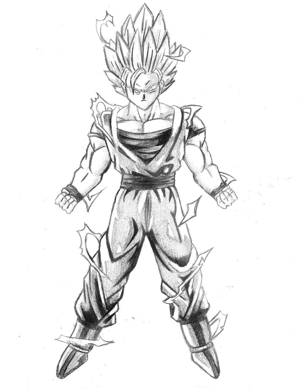 1024x1304 Goku By Heidelmeier17