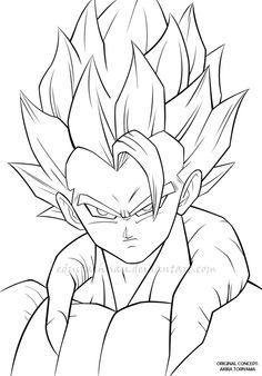 236x338 Print Goku Goku Coloring Pages Goku Coloring Pages (10