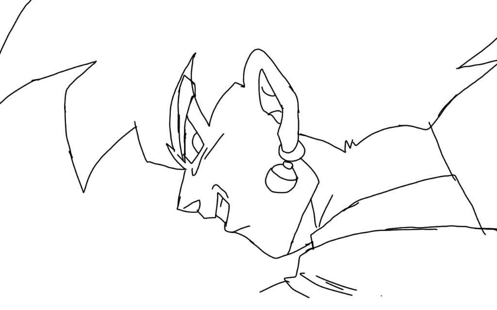 1024x640 Goku Black Drawing!! Dragonballz Amino