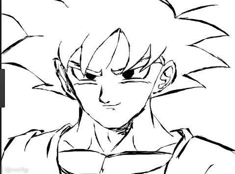Goku Drawing Easy At Getdrawings Com Free For Personal Use Goku