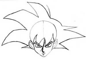 300x232 How To Draw Goku (From Dragon Ball Z) Manga University Campus Store