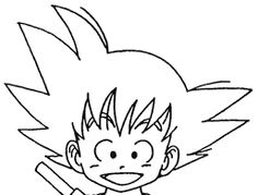 236x179 How To Draw Goku Easy Dragonball Z Amp Gt Goku