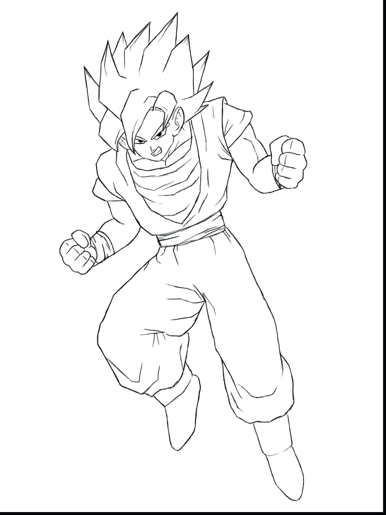 1320x1760 Coloring Vegeta Coloring Pages Excellent How To Draw Easy