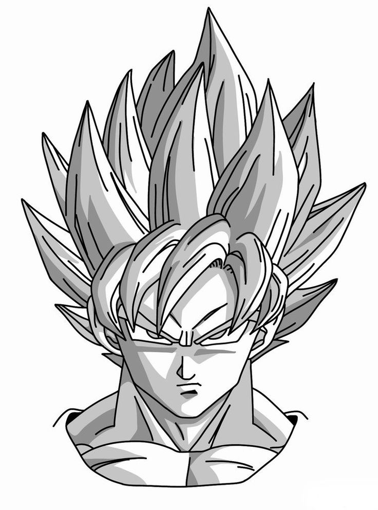 Preferência Goku Drawing Step By Step at GetDrawings.com | Free for personal  CR42