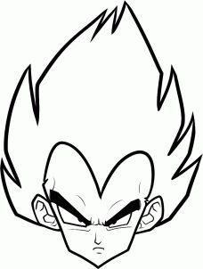 228x302 Easy Dragon Ball Z Drawings Free Download