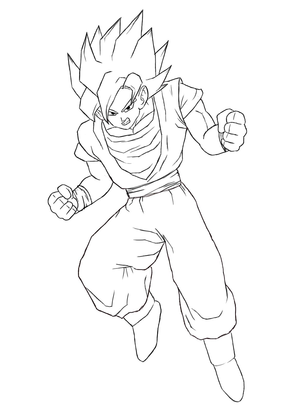 1200x1600 Goku Realistic Drawing Dragonball Realistic